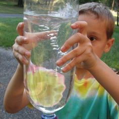 Tornado in a Bottle activity from Lesson 4: Tornadoes, Hurricanes, and Lightening Lesson: