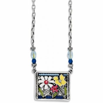 Painted Garden Necklace available at #BrightonCollectibles