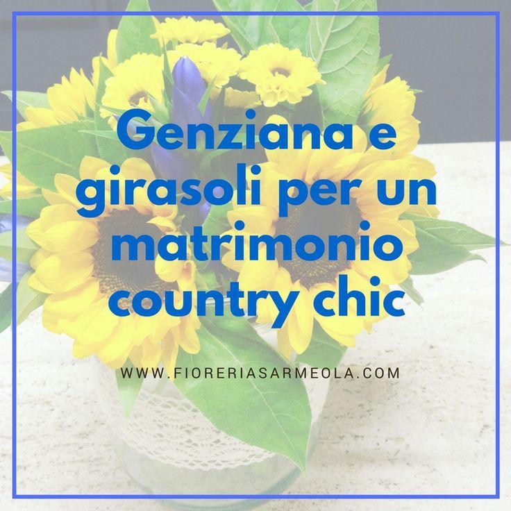 Genziana+e+girasoli+per+un+matrimonio+country+chic