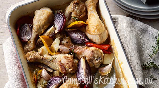 Anyone else cooking a Sunday roast? Try our pan roast chicken and vegetables tonight!