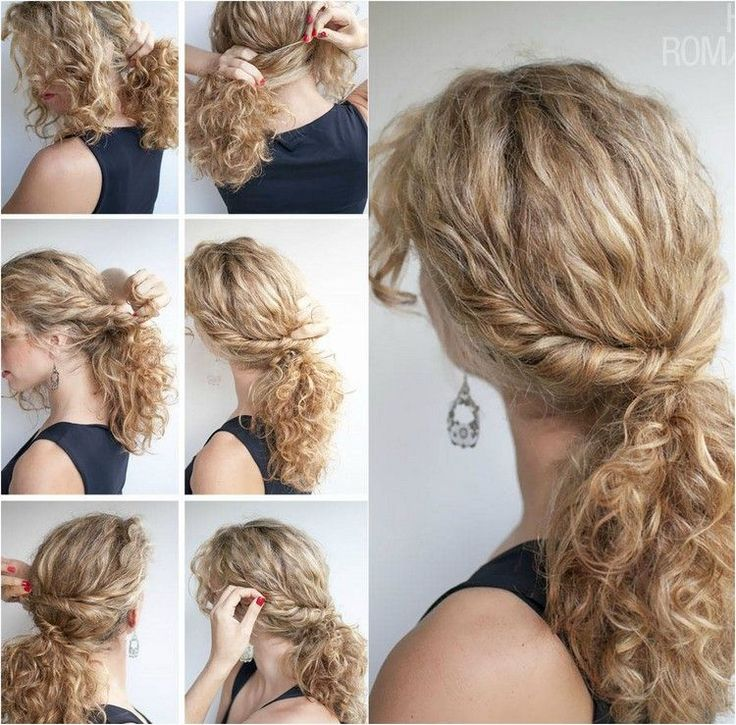 Messy And Curly Hairstyle Naturally – 40 Ideas Sty…
