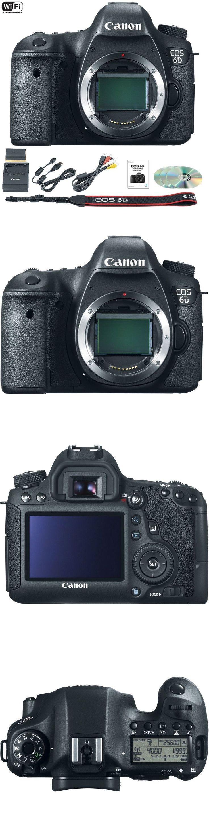 Camera Photo: Canon Eos 6D Mark Ii Mk 2 Digital Slr Camera (Body Only) -> BUY IT NOW ONLY: $1949.99 on eBay!