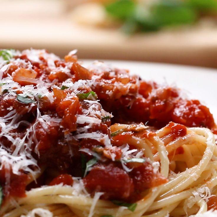 Marinara Sauce // #pasta #italian #marinara #food #Tasty