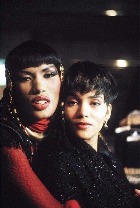 Grace Jones & Halle Berry Boomerang 1992