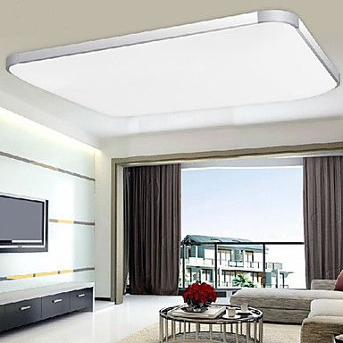 Flush Mount LED/Bulb Included Modern/Contemporary Living Room/Bedroom/Dining Room Metal – AUD $ 205.49