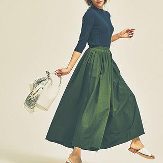 女っぷりがあがる、アシンメトリーヘムのスカートMarisol ONLINE|女っぷり上々!40代をもっとキレイに。