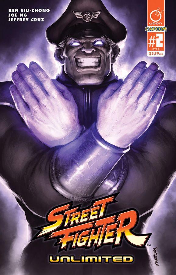 STREET FIGHTER UNLIMITED #2 CVR D by Kandoken