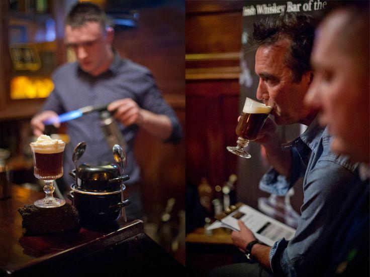 Food - http://davidruffles.viewbook.com/food Kevin Dundon, Chef. Judges the Irish Coffee Contest at Garavans Bar, Galway