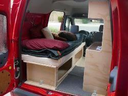 22 best ford transit connect camper images on pinterest ford transit connect camper van. Black Bedroom Furniture Sets. Home Design Ideas