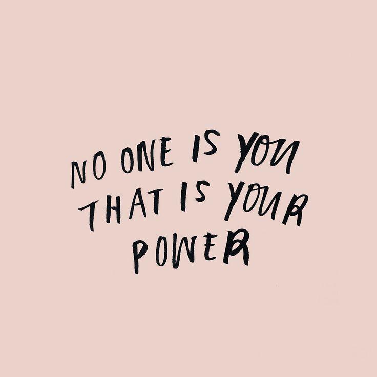 No one quite like you!