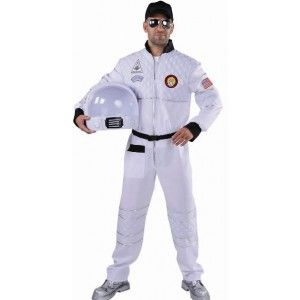 Costume Déguisement astronaute homme deluxe