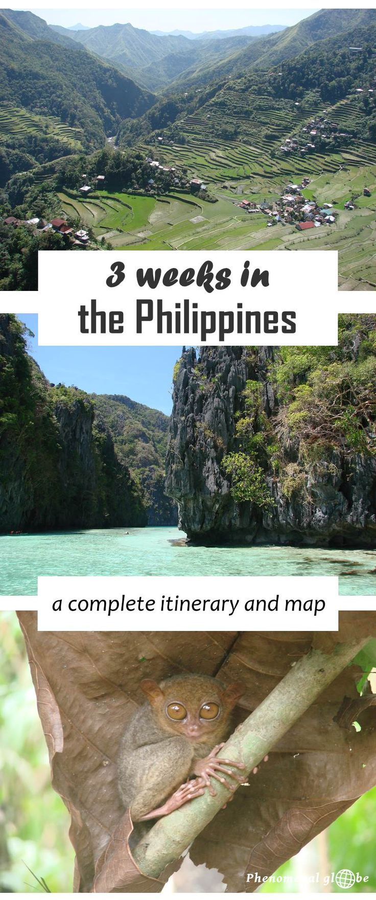 All you need to know about getting from A to B in the Philippines, detailed information about transport plus map. Some of the highlights: hiking in Banaue (Luzon), island hopping in El Nido (Palawan) and sightseeing on Bohol.                                                                                                                                                     More