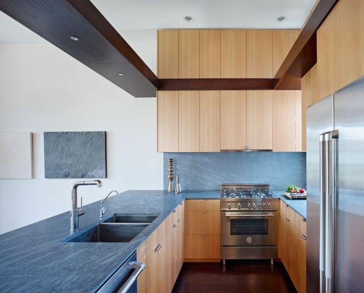 343 best Wohnideen Küche images on Pinterest Counter top, Dupont - küche mit edelstahl arbeitsplatte
