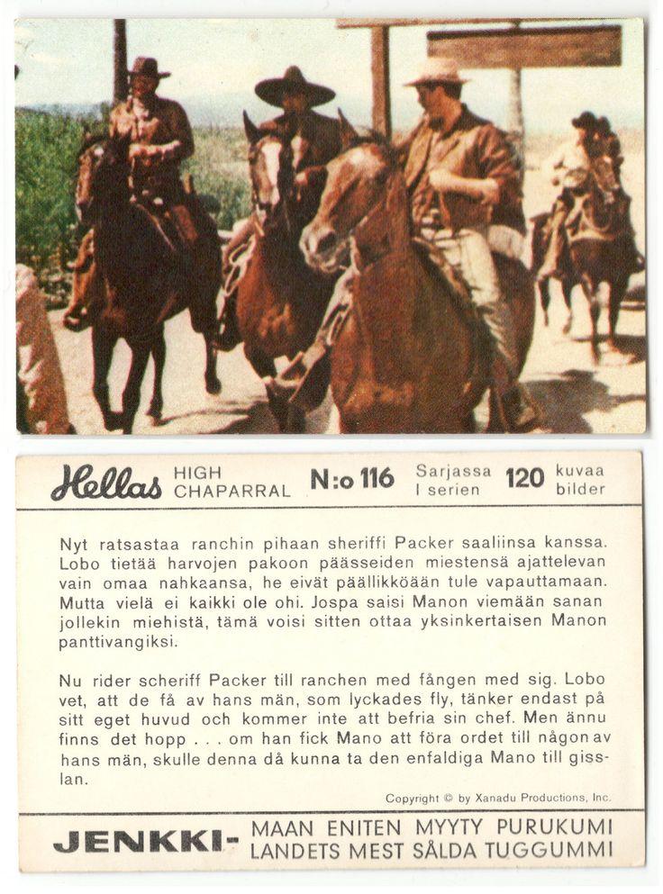 Hellas Jenkki High Chapparal - 116