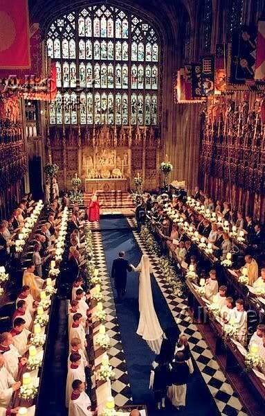 Image result for windsor castle st george's chapel wedding