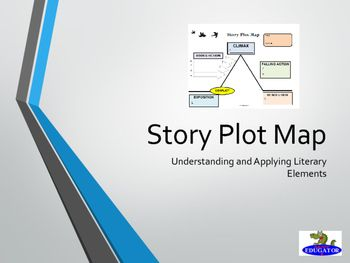Story Plot Map by HappyEdugator | Teachers Pay Teachers