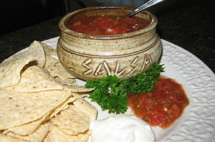 Mennonite Girls Can Cook: Salsa