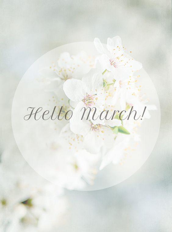 hello march!...