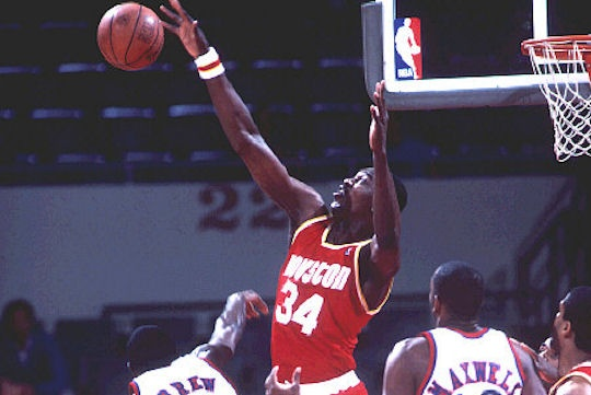 The Dream. You can have your Shaq's, your Jordan's, your Barkleys. I want a 1990's power forward. I want Hakeem Olajuwon