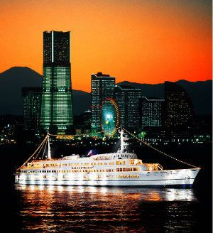 Sightseeing Boats in Yokohama - this would be fun after the first day :D