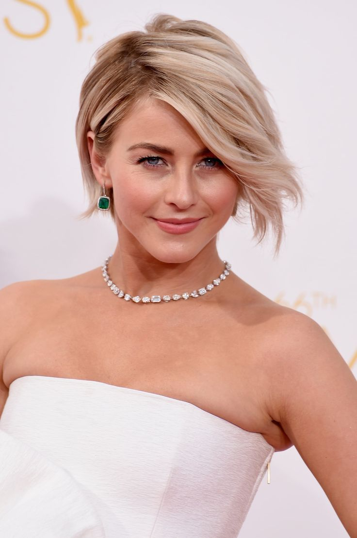 Julianne Hough in 2020 | Celebrity bobs hairstyles, Messy ...