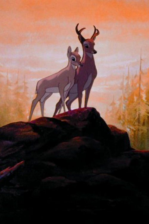 Bambi and Faline - I didn't even realize that Faline (Phalene) was a name in Bambi . . . sneaky subconscious