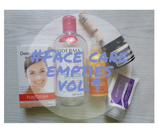 make up your dayz: Face care empties vol.9!!