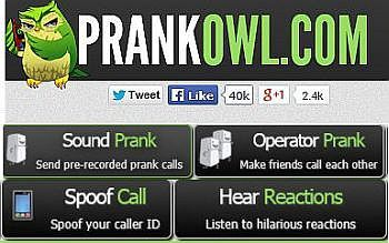 Prank Call Your Friends - Send hilarious, automated sound prank calls to your friends and family all over the world. The call can be recorded allowing you to listen to the results!   From www.allsitecafe.com/