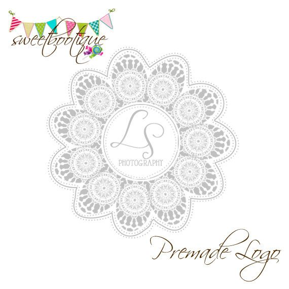 FULLY CUSTOMISABLE  Premade Logo  L&S Photography by SweetBootique