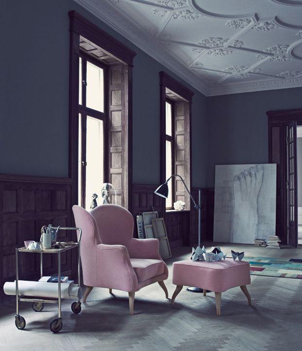 De polstrede møbler har længe været anset for at være lidt for kluntede til at passe med den minimalistiske, nordiske stil, men nu har det buttede look fået en ægte revival.