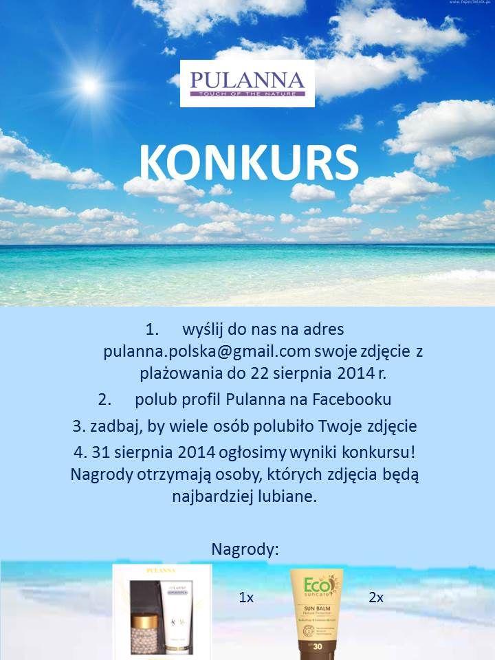 Więcej informacji na naszej stronie http://giftbox.com.pl/index.php?option=com_content&view=article&id=101:wakacyjny-konkurs-z-pulanna&catid=97:konkursy&Itemid=423