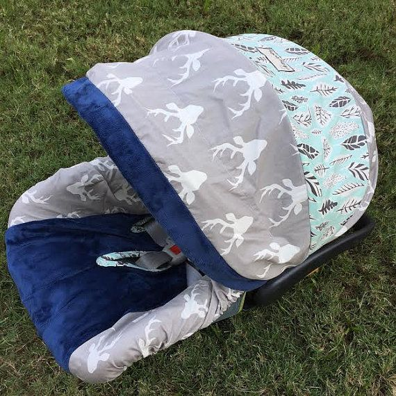 Buck Forest Mist Hello Bear Infant Car Seat Cover you can purchase at link! other universal liners on this same shop that you can save money on!