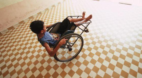 Una rampa para silla de ruedas contra la pobreza | Internacional | EL PAÍS