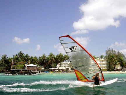 #Martinique. Surfing on fabulous Martinique's sea.