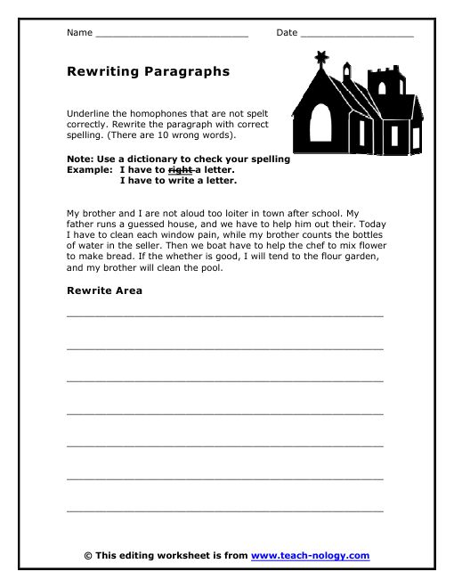 click to print grammar paragraph worksheets 4th grade ela. Black Bedroom Furniture Sets. Home Design Ideas