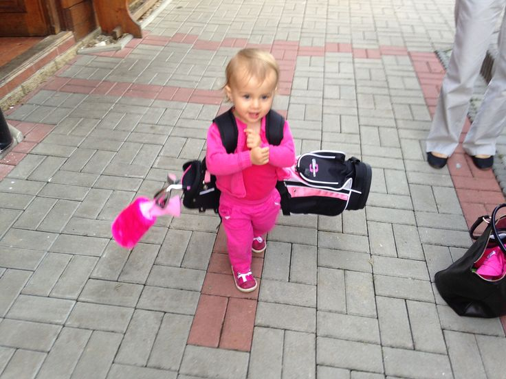 Malá golfistka