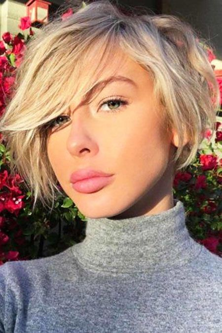 Short Bob Bangs Trendy Coupe De Cheveux Tendances