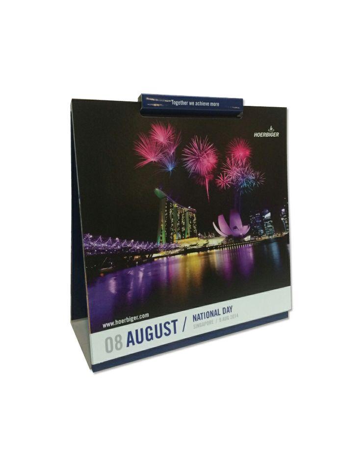 Table Calendar Design & Print