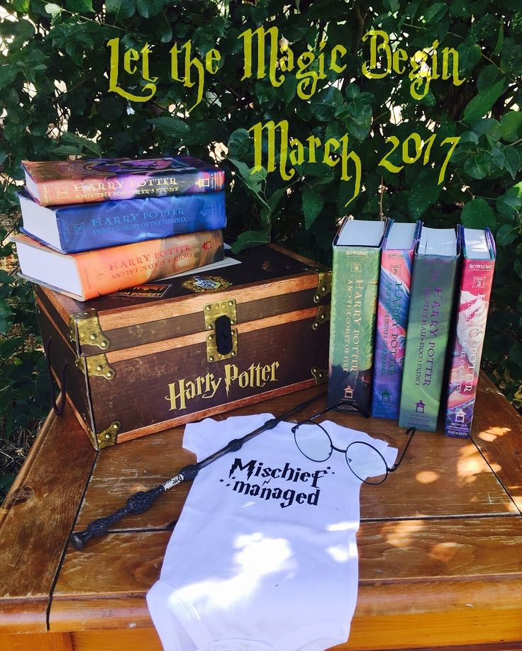 Harry Potter Baby Announcement ⚡️⚡️