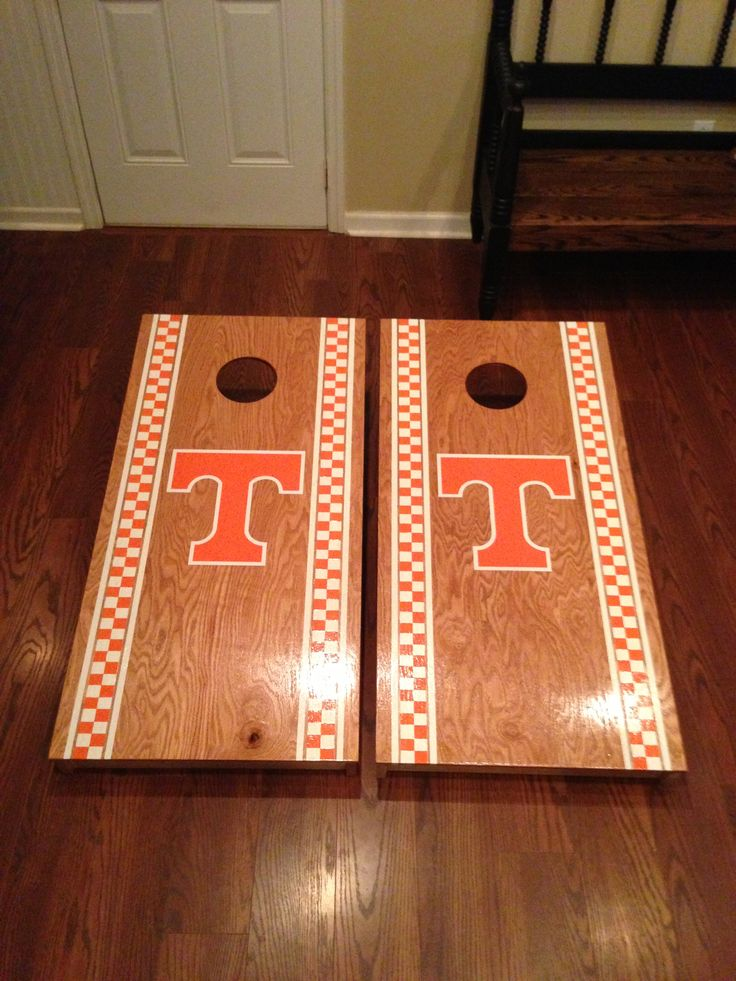 Checkered UT cornhole! | Cornhole | Pinterest | More ...