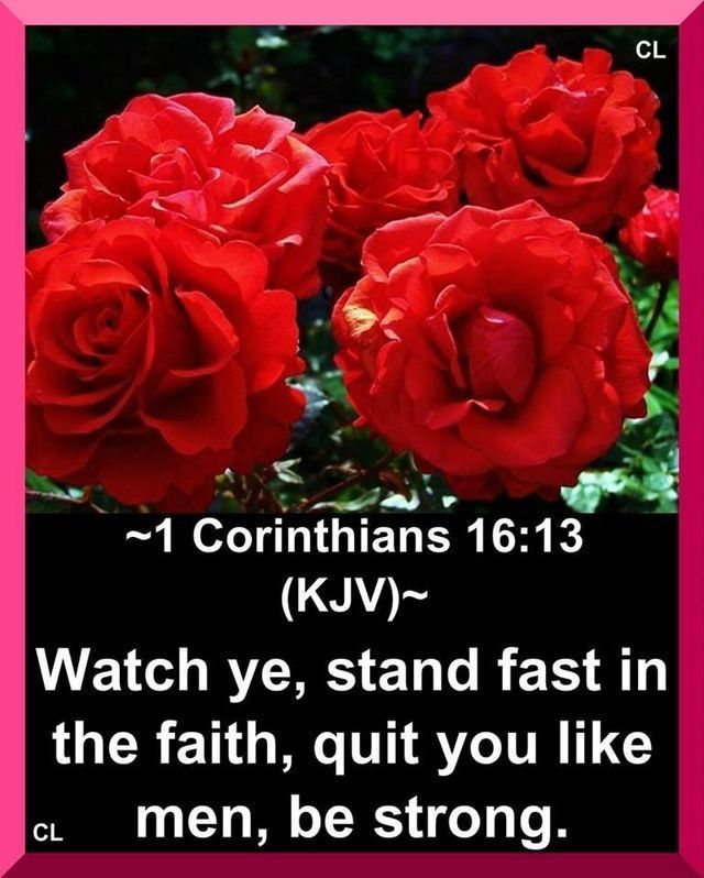 Image result for KJB verses Corinthians with flowers