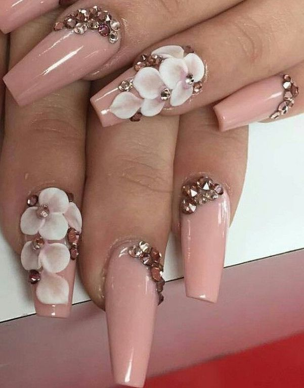 Best 25+ 3d acrylic nails ideas on Pinterest | 3d nail art ...
