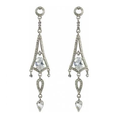 Deco Darling - Art Deco Earrings - Costume Jewellery