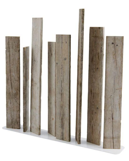 Garten Raumteiler (Holz) NATSIQ by Frank Lefebvre & Bastien Taillard BLEU NATURE