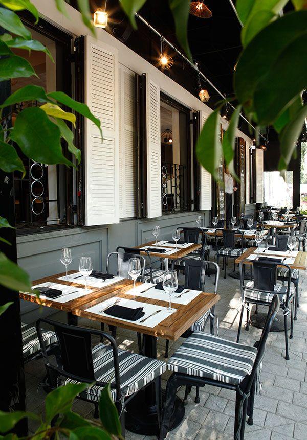 RESTAURANTE COMENSAL La terraza ideal para compartir entre amigos.