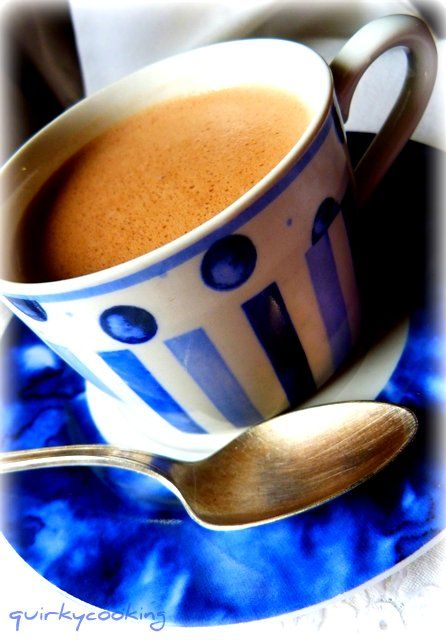 Creamy Hot Chocolate (Dairy Free)  Incredibly yummy!