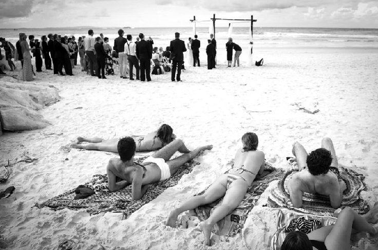 Who doesn't love a beach wedding...Stradbroke Island Photography - North Stradbroke Island - Wedding Gallery