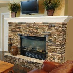 """Why Use Antico Rock or Stone Faux Panels?  (""""both practical and beautiful"""")  Faux Stone Panels from Antico Elements  Most of us at some point had..."""