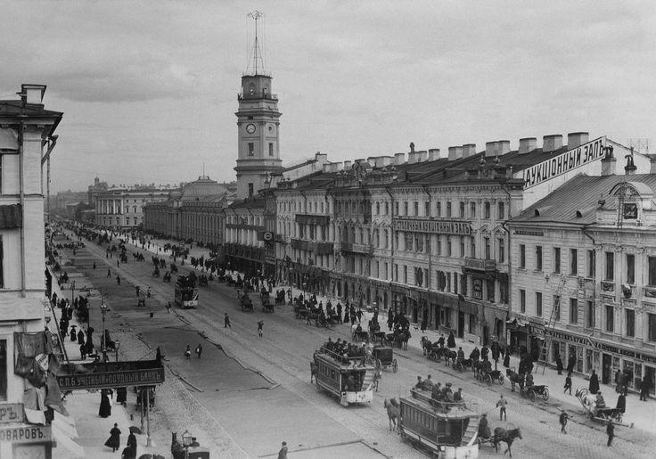 Невский проспект. 1887 г.