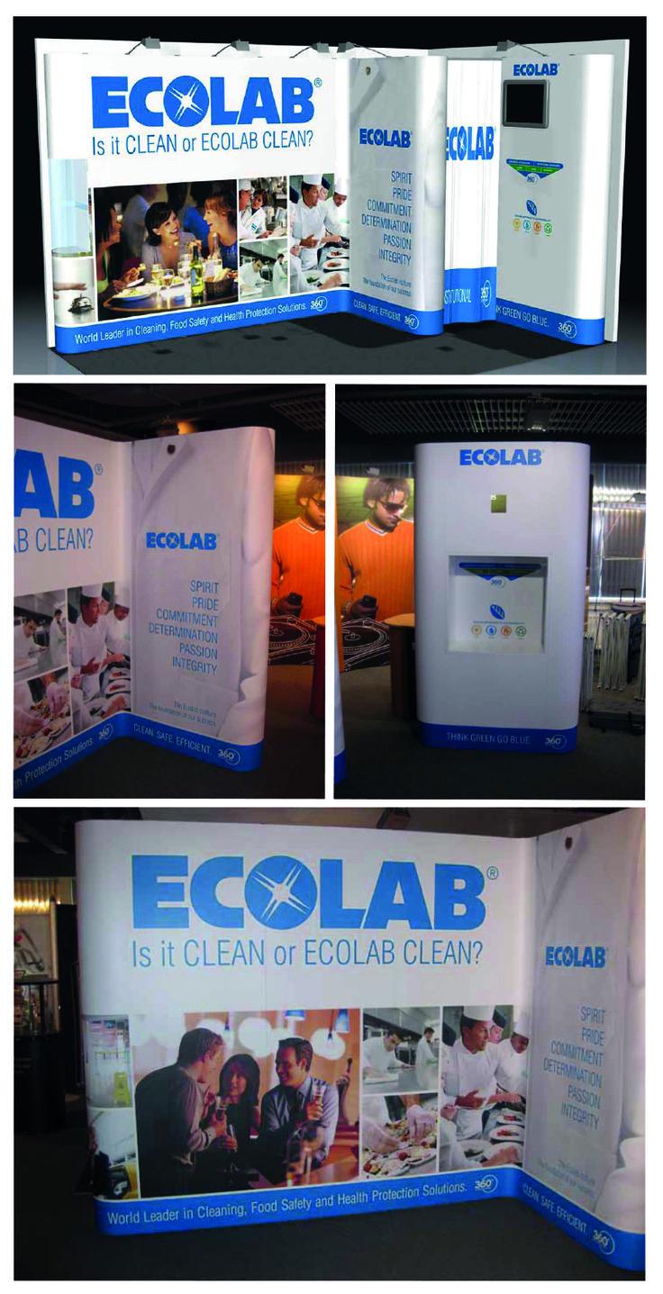 Ecolab ontwerp beursstand